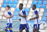 Winful Cobbinah scored the second goal for his side during the 67th minute