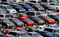 File photo: Some parked cars