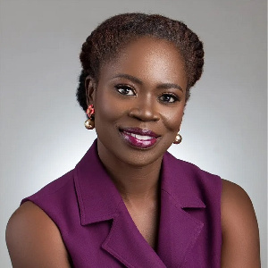Abena Amoah,  Deputy Managing Director of the Ghana Stock Exchange