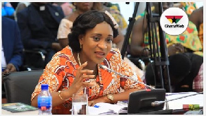 Deputy Minister for Finance, Mrs. Abena Osei Asare
