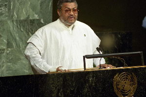 Rawlings At The UN General Assembly