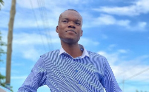 Broadcast journalist, Caleb Kudah