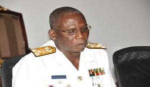 Former Chief of the Defence Staff Vice-Admiral Matthew Quashie