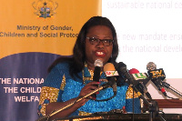 Nana Oye Lithur, Minister of Gender