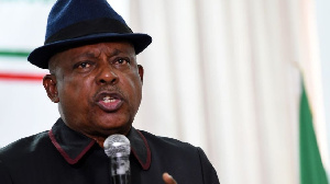 Uche Secondus na National Leader of di Nigerian opposition People Democratic Party  (PDP)