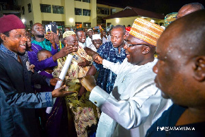 Bawumia's love and quest to see the forward match of the Muslim community in Ghana is commendable