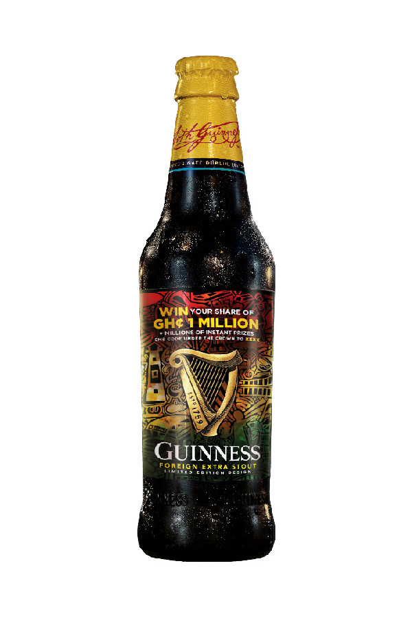 Every time you drink Guinness, you are celebrating Ghana