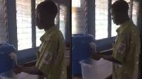 SHS students create touch-free Veronica bucket to help fight Coronavirus