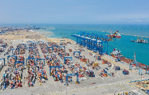 File photo of Tema port