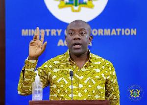 Minister of Information, Kojo Oppong-Nkrumah