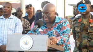 President Akufo-Addo is on a three day tour of the Upper West Region