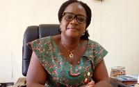 Jirapa Municipal Chief Executive (MCE), Christine Bomannye Amadu