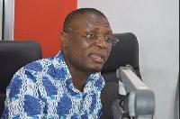 Kofi Adams, National Organizer of the National Democratic Congress (NDC)
