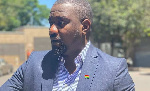The impudence – John Dumelo reacts to video of NPP's 'billboard cover'