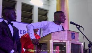 Isaac Agyemang, UG SRC president
