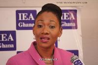 EC Chairperson, Jean Mensa