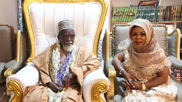 Afia Schwarzenegger gets new Islamic name from Chief Imam