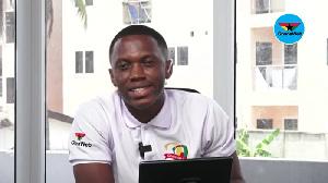 Host of GhanaWeb Friday Debate, Joel Eshun