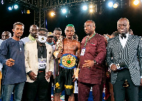 Quaye chalked a round one victory