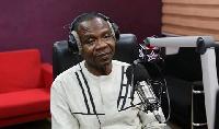Roland Affail Monney, President of the Ghana Journalists Association (GJA)