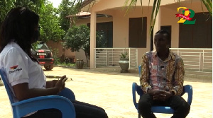 Yaw Siki spoke to GhanaWeb's Road Safety team about his experience years back