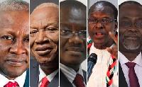 NDC Presidential hopefuls