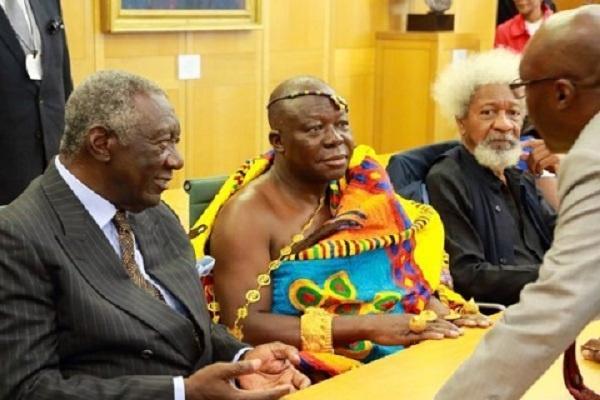 Former President John Agyekum Kuffour and Otumfuo Osei Tutu II