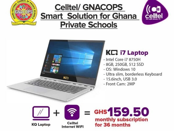 GNACOPS after the launch at Janet Educational Complex will also distribute 1 million tablets