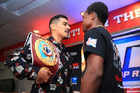 Jessie Magdaleno and Isaac Dogboe