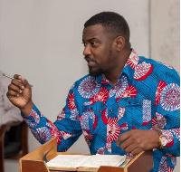 Ghanaian actor, John Dumelo
