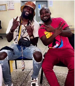 Funny Face and Adebayor