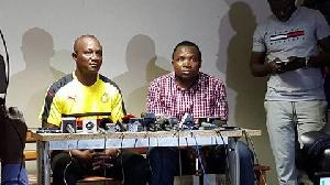 James Kwesi Appiah Presser New