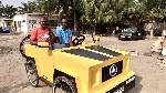 JHS leaver builds paddle car out of wood