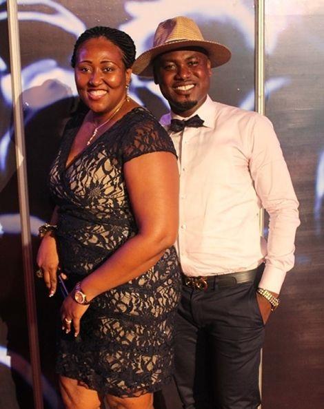 Abeiku Santana and his wife Genevieve