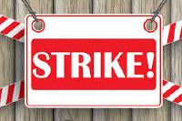 Nurses declared a sit-down strike on Monday
