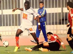 Raphael Kwaku Obeng in action