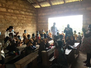Pupils in a classroom of classrooms