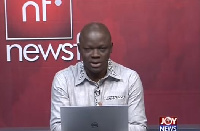Samson Anyenini, host of Newsfile