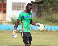 Richard Ofori wants his teammates to keep fighting