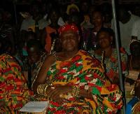 Nana Effah Opinamang III, the Chief of Kwahu Obomeng