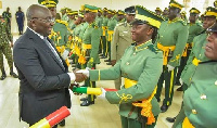 Dr. Bawumia graduated 300 cadet officers of the Service