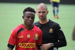 Ghanaian youngster Isaac Atanga