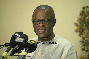 Bright Oduro, outgoing Director General of the CID