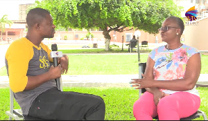 DJ Nyaami of SVTV Africa in a chat with Madam Janet