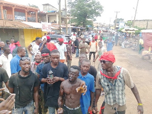 Some of the people behind attacks on Nigerians at Suame magazine