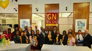 GN Bank management and staff