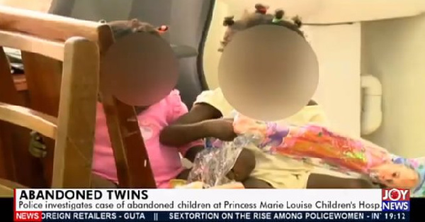 Mother abandons twins at children's hospital