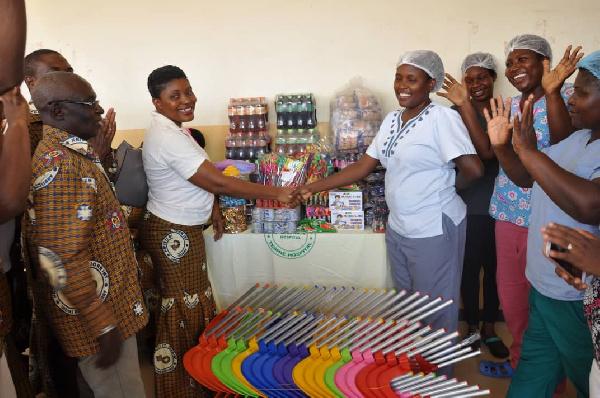 St. Anne KSJI, Teshie reaches out to children at LEKMA hospital