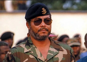 The late former President of Ghana, Jerry John Rawlings