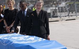 Kofi Annan Body
